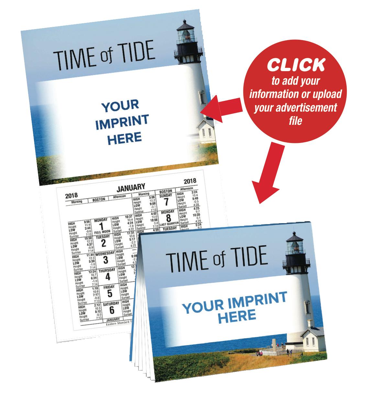 Stock Art Standard Modern Tide Calendars